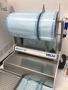 メラシール100+ 器具の滅菌管理